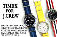 J.crew x Timex