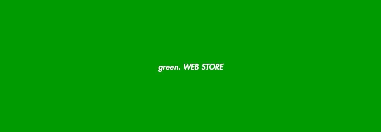 green.WEB STORE