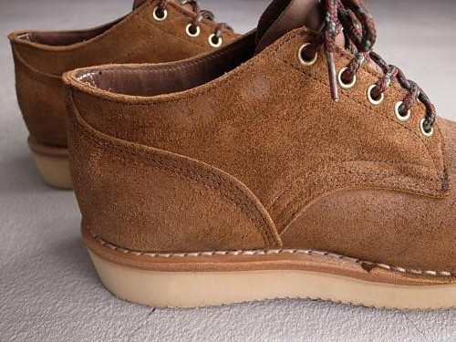 HATHORN BOOTS RAINIER OXFORD SHOES brown suede