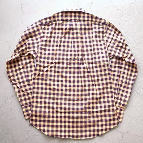 INDIVIDUALIZED SHIRTS MADRAS CHECK B.D Standard fit