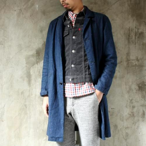 DAILY WARDROBE INDUSTRY  DAILY STANDARD DENIM JACKET コーデュロイ