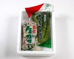 広島の味!牡蠣と広島菜漬 詰合せセット
