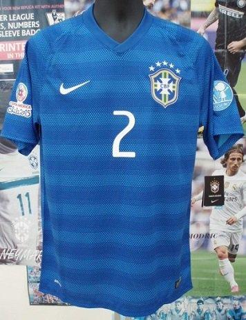 ブラジル(A)2015コパアメリカCHILE N&N+パッチ2個セット!
