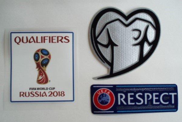 ロシアW杯2018 ヨーロッパ予選パッチ