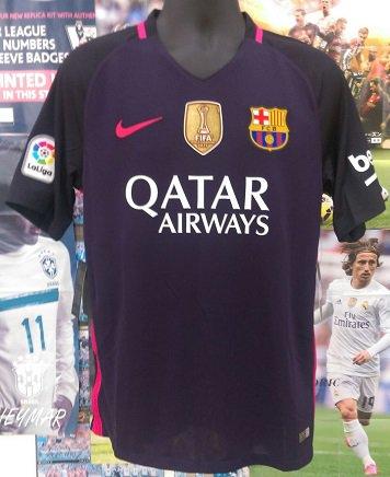 FCバルセロナ(A)16/17 CWCパッチ & N&Nセット。