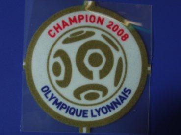 リヨン 08/09チャンピオンパッチ