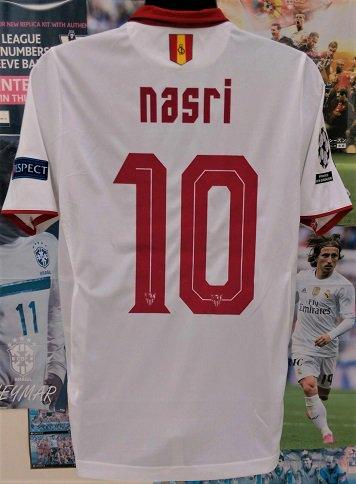 セビージャ(H) 16/17 選手支給 UEFA CL N&N+パッチ3個