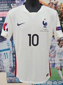 フランス(A) 2015 選手支給 ベンゼマ#10