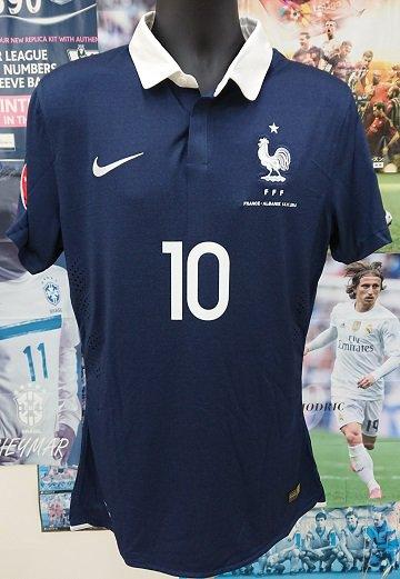 フランス代表(H) 2014 選手支給 ベンゼマ#10vs アルバニア