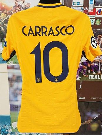 アトレティコ、マドリード(A)17/18 選手支給 UEFA CL カラスコ#10