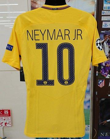 PSG(A) 17/18 選手支給 UEFA CL用 ムバッペ、ネイマール、アウベス、カバーニ