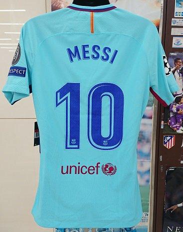 FCバルセロナ(A)17/18 選手支給 UEFA CL メッシ#10etc