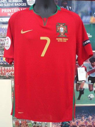 ポルトガル(H) EURO2008 ロナウド#7