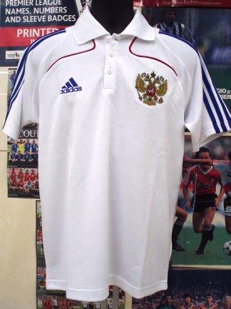 ロシア08/09 ポロシャツ