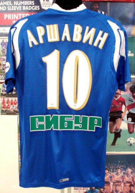 ゼニト(A)08 アルシャービン#10選手用