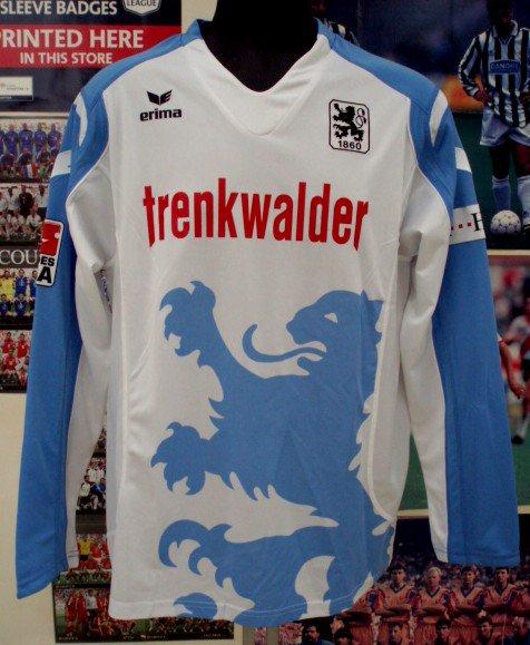 1860ミュンヘン(H)08/09長袖、選手実着SCHICK#3