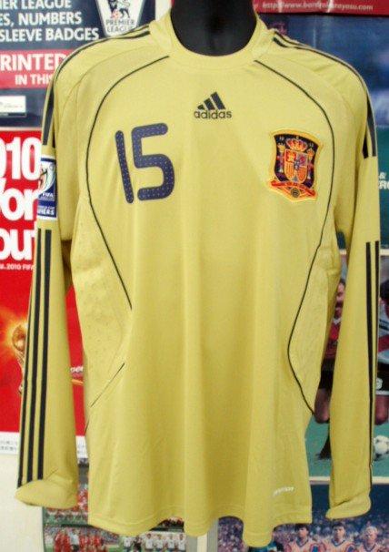 スペイン(A)08/09選手支給長袖ラモス#15
