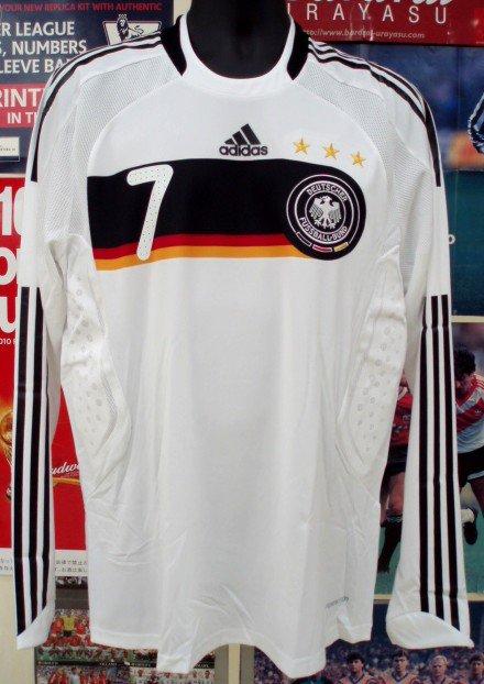 ドイツ(H)08/09選手用長袖N&Nセット