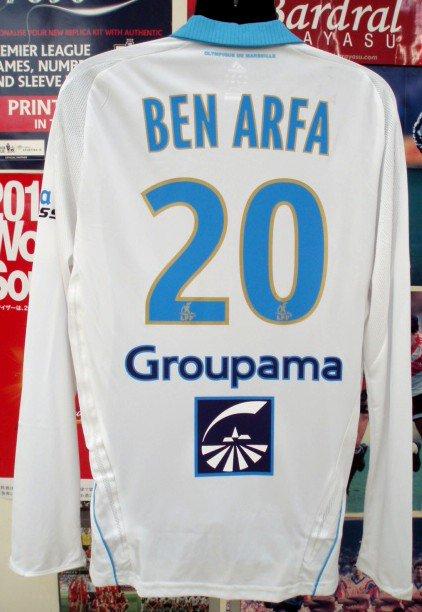 マルセイユ(H)08/09選手用長袖ベンアルファ#20+パッチ