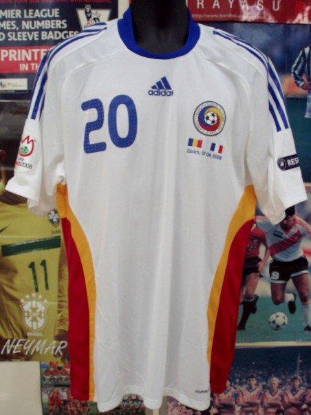 ルーマニア(A)08/09選手実着DICA#20,EURO2008
