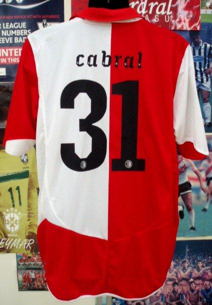 フェイエノールト(H)10/11選手支給CABRAL#31