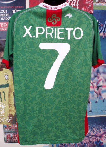 バスク州選抜12/13 X、PRIETO#7