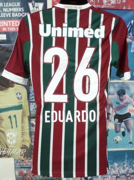 フルミネンセ(H)2013選手支給、実着EDUARDO#26