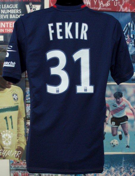 リヨン(3rd)13/14選手支給、実着 FEKIR#31