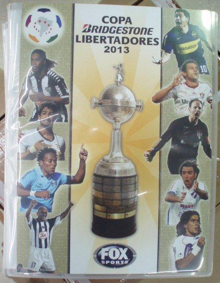 Copa Libertadores2013コンプリート、カードセット