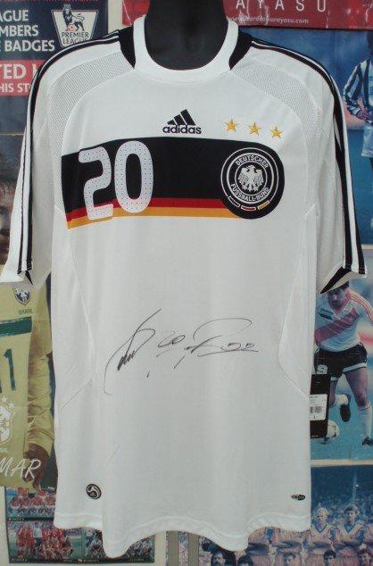 ドイツ(H)08/09ポドルスキー#20直筆サイン入り。