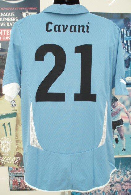 ウルグアイ(H)2010 カバーニ#21