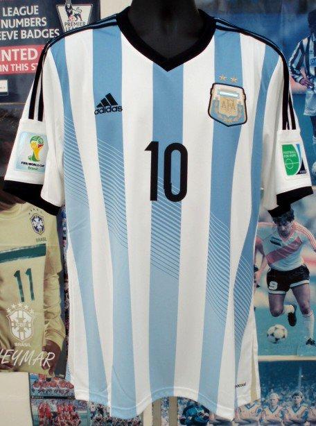 アルゼンチン(H)2014 N&N+パッチ付