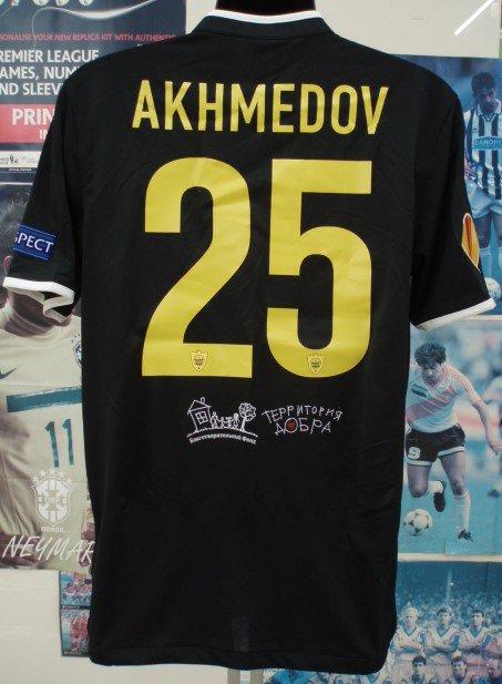 アンジ、マハチカラ(A)13/14選手支給 EL用 Odil Akhmedov#25