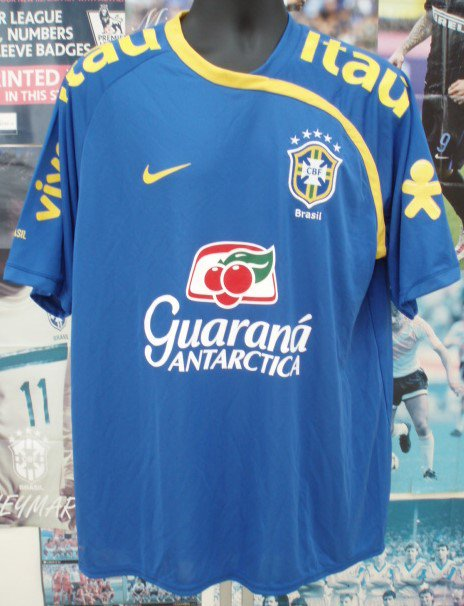 ブラジル13/14 選手支給 トレシャツ