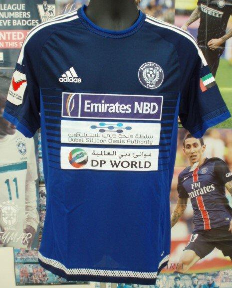 アル、ナスルDubai(UAE)HOME2015選手用 adizero ニウマール#7