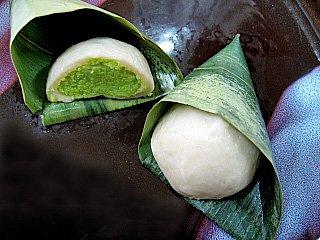 麩饅頭(ずんだ) 《冷凍》