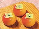 フルーツ餅・柿 《冷凍》
