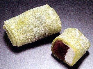 ぎゅうひミニ(抹茶) 《冷凍》