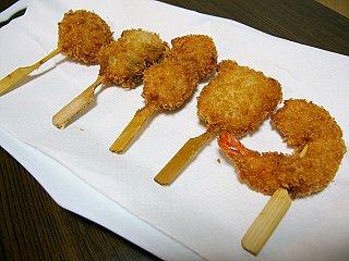 海鮮串揚げセット5種 《冷凍》