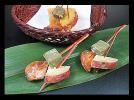 三色揚げ松葉(柿) 《冷凍》