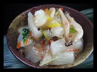 蟹とカブの含め煮 《冷凍》