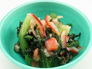 北寄貝と青菜の柚子胡椒和え 《冷凍》