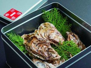 いかだ荘山上 的矢産真牡蠣のカンカン焼き(15個入り)