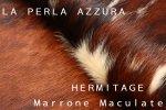 HERMITAGE MARRONE/MACULATE