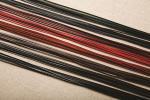 クラフトレース 2mm巾x90cm 8色