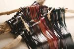 色吟レース(羊皮) 8.5mm巾x70cm 8色