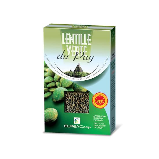 ル・ピュイ産 緑レンズ豆AOP500g (乾燥)