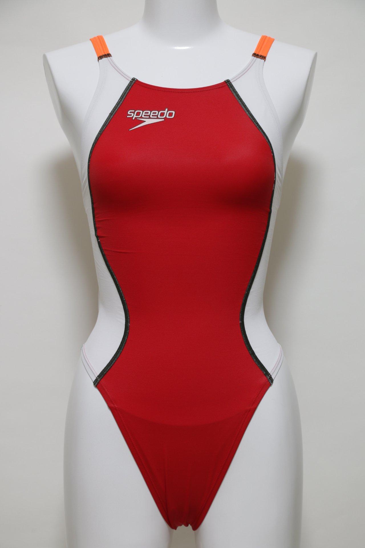 Bespoked Speedo Women's Competition Swimwear Fastskin XT-W High Leg Cut One Piece