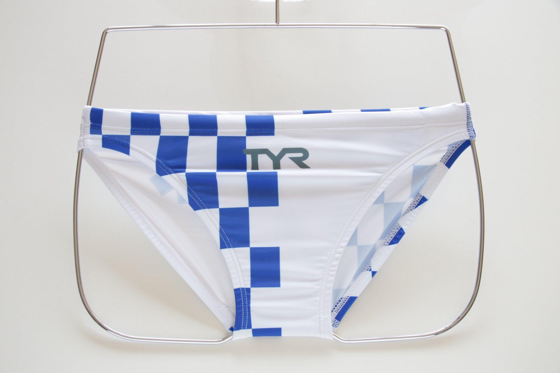 Bespoke Tyr Men's Swimwear Brief  LIFE GUARD