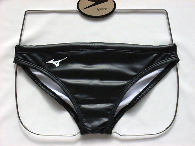 Mizuno Men's Swimwear Water Polo Brief Black